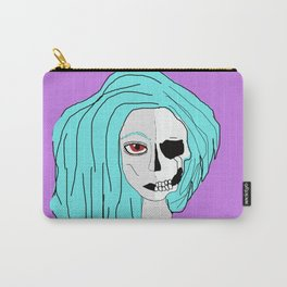Lady Skeleton Carry-All Pouch