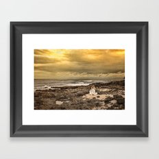 While the Light Lasts Framed Art Print