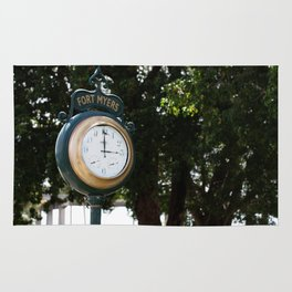 Fort Myers Clock Rug