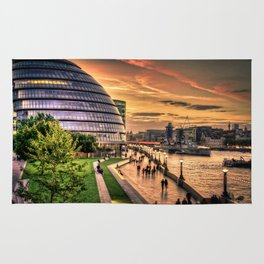 F O S T E R | architect | London City Hall Rug