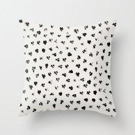 Polka Splotch Throw Pillow