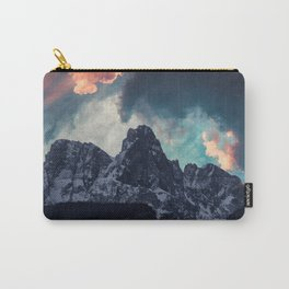 Magic mountain sunset Carry-All Pouch
