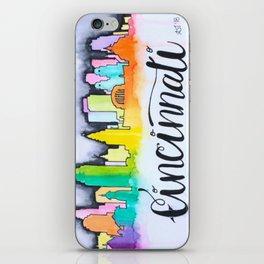 Cincinnati Skyline iPhone Skin