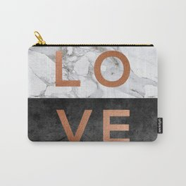 Love Copper Carry-All Pouch