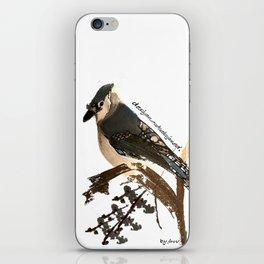 Ocell de Bosc iPhone Skin