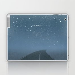 "Jack Kerouac ""On the Road"" - Minimalist literary art design, bookish gift Laptop & iPad Skin"