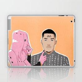 Pink Matter Laptop & iPad Skin