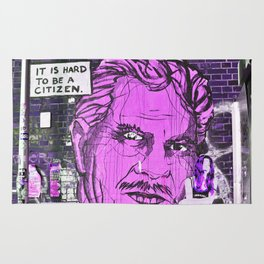 IT IS HARD TO BE A CITIZEN - Berlin Rug