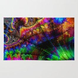 abstract 005: love Rug