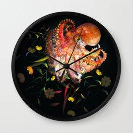 Surreal Octopus Digueti Wall Clock