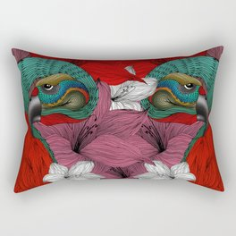 THE PARROT Rectangular Pillow