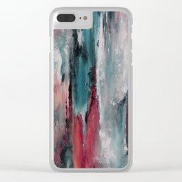 Color Harmony 06c03 Clear iPhone Case