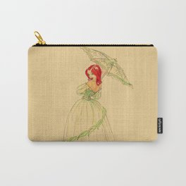 Steampunk Poison Ivy Carry-All Pouch