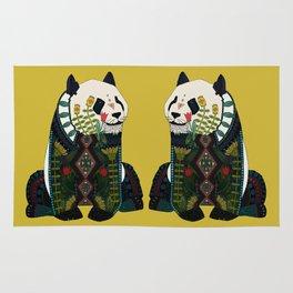panda ochre Rug