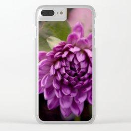 la vie en violet Clear iPhone Case