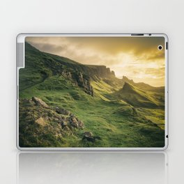 Mesmerized By the Quiraing IV Laptop & iPad Skin