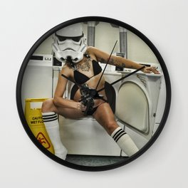 Coco Trooper Wall Clock