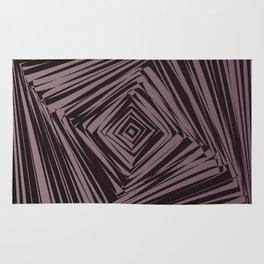 geometric optical illusion Rug