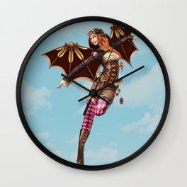 Steam Aviator Wall Clock