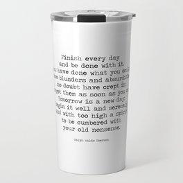 Quote Travel Mug