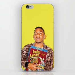 Lucky Lamars | Rappers and Cereal iPhone Skin