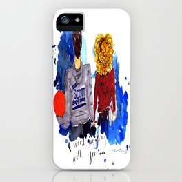 Peyton and Lucas, One Tree Hill iPhone Case