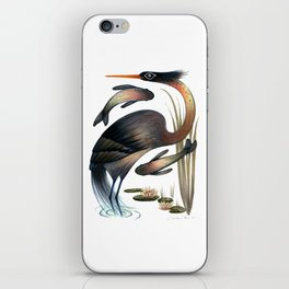 The Heron iPhone Skin
