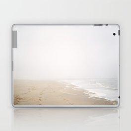 Beach lovers - misty morning beach photography - for oceanholics Laptop & iPad Skin