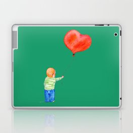 With All my Heart Laptop & iPad Skin
