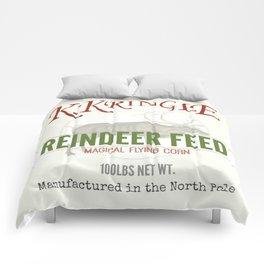 Christmas Reindeer Feed sack Comforters