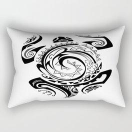 Tribal Turtle  Rectangular Pillow