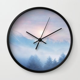 Pastel vibes 11 c.o. Wall Clock