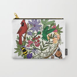 Pollinator's Garden Carry-All Pouch