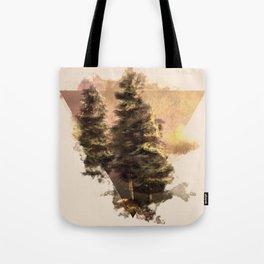 Pine trees Tote Bag