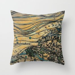 Cellulose Throw Pillow