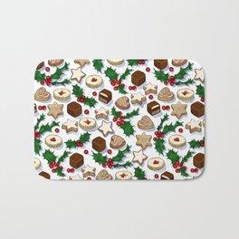 Christmas Treats and Cookies Bath Mat
