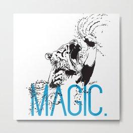 MAGIC - Tiger Metal Print