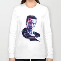 arnold Long Sleeve T-shirts featuring Arnold Schwarzenegger: BAD ACTORS by mergedvisible