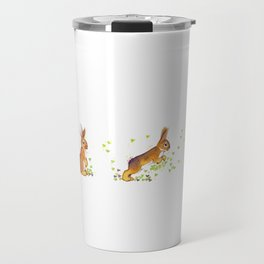 Running rabbit ! Travel Mug