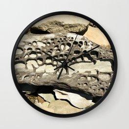 Stone Lace Nugget Washington Boulder Rock Geology Wall Clock