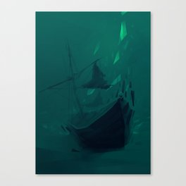 Speedpaint: The Void I Canvas Print