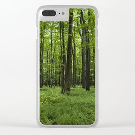 Midst of Summer Clear iPhone Case