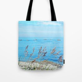 Circle of Rocks and the Tall Grass Tote Bag