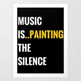 Music is... Art Print
