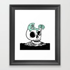 Surfer Thoughts Framed Art Print