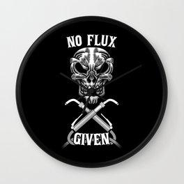 No Flux Given Wall Clock
