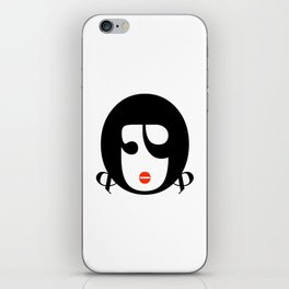 Bodoni Girl iPhone Skin