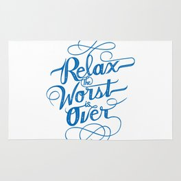 Relax the Worst Is over Rug