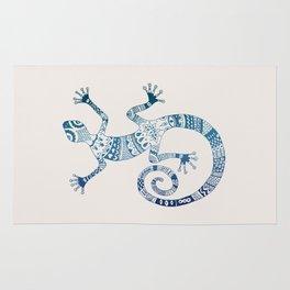 Blue Gecko Rug