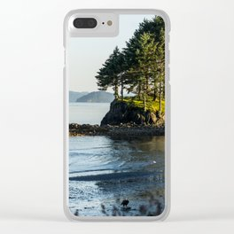 Edge of the Water Clear iPhone Case